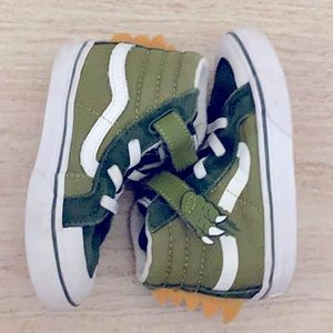 RARE Vans Toddler Boys Size 8 Dino Sneakers/Shoes
